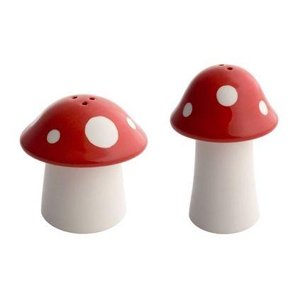 Set de sal y pimienta Mushrooms