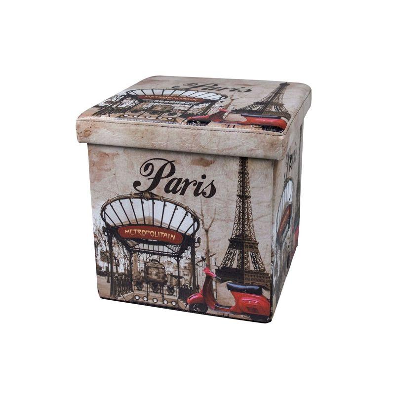 Puff plegable Paris