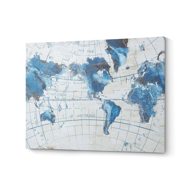 Cuadro Dou Mapa del Mundo