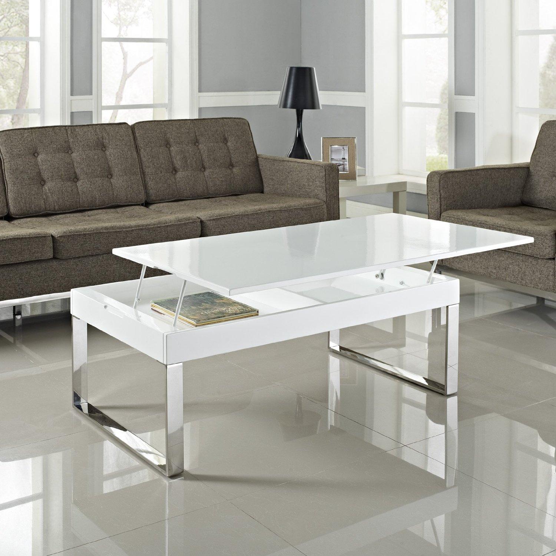 Ebay for Mesa de centro blanca