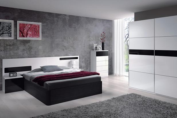 Dormitorio de matrimonio cabezal y mesitas matrimonial - Cabezal dormitorio matrimonio ...