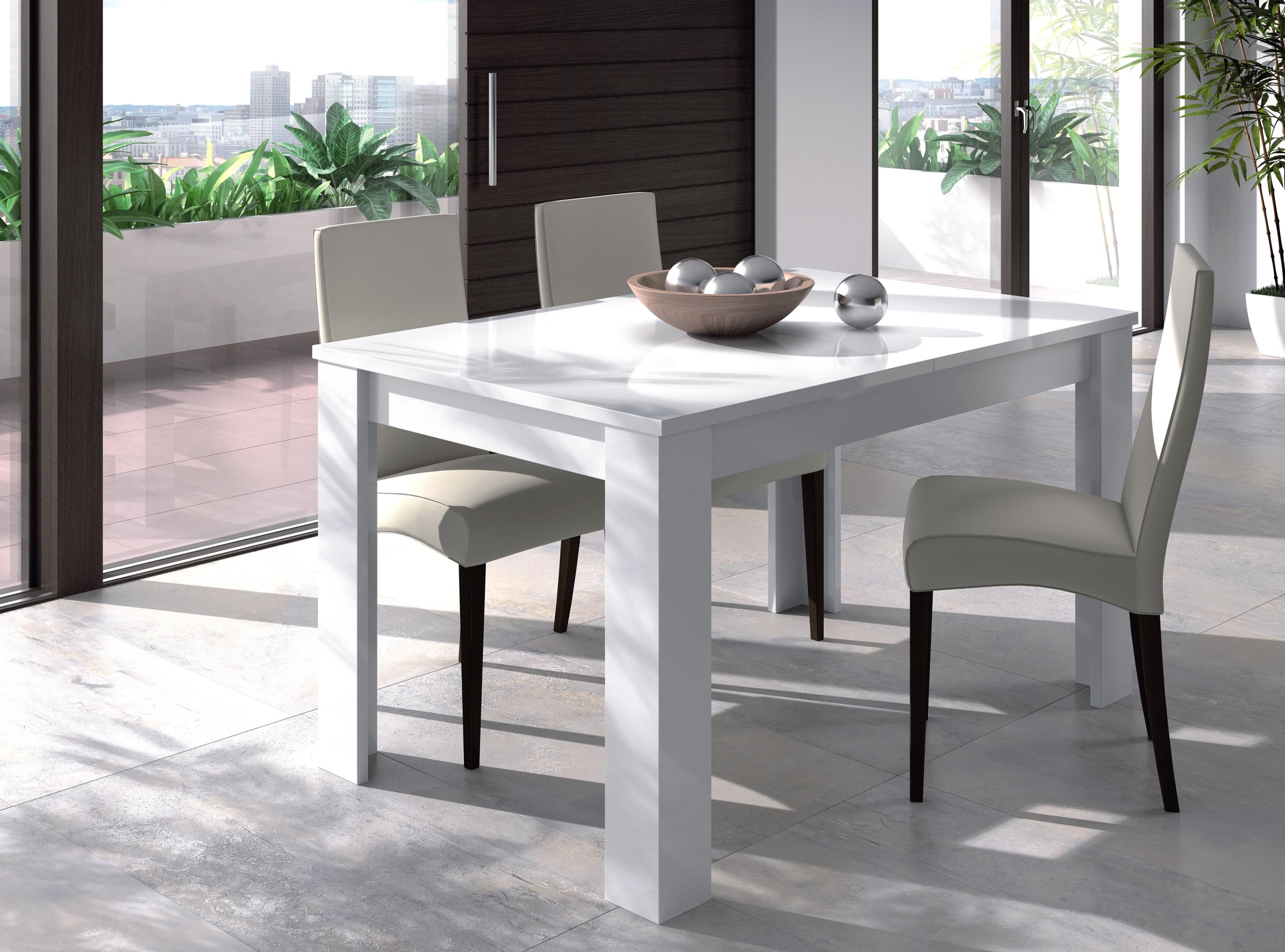 Mesa de comedor sal n extensible mesa de cocina mueble for Mesa salon comedor