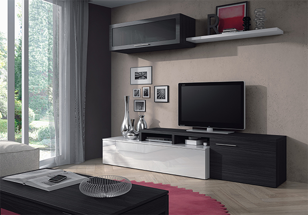 Mueble de comedor salon moderno ebay - Mueble moderno salon ...