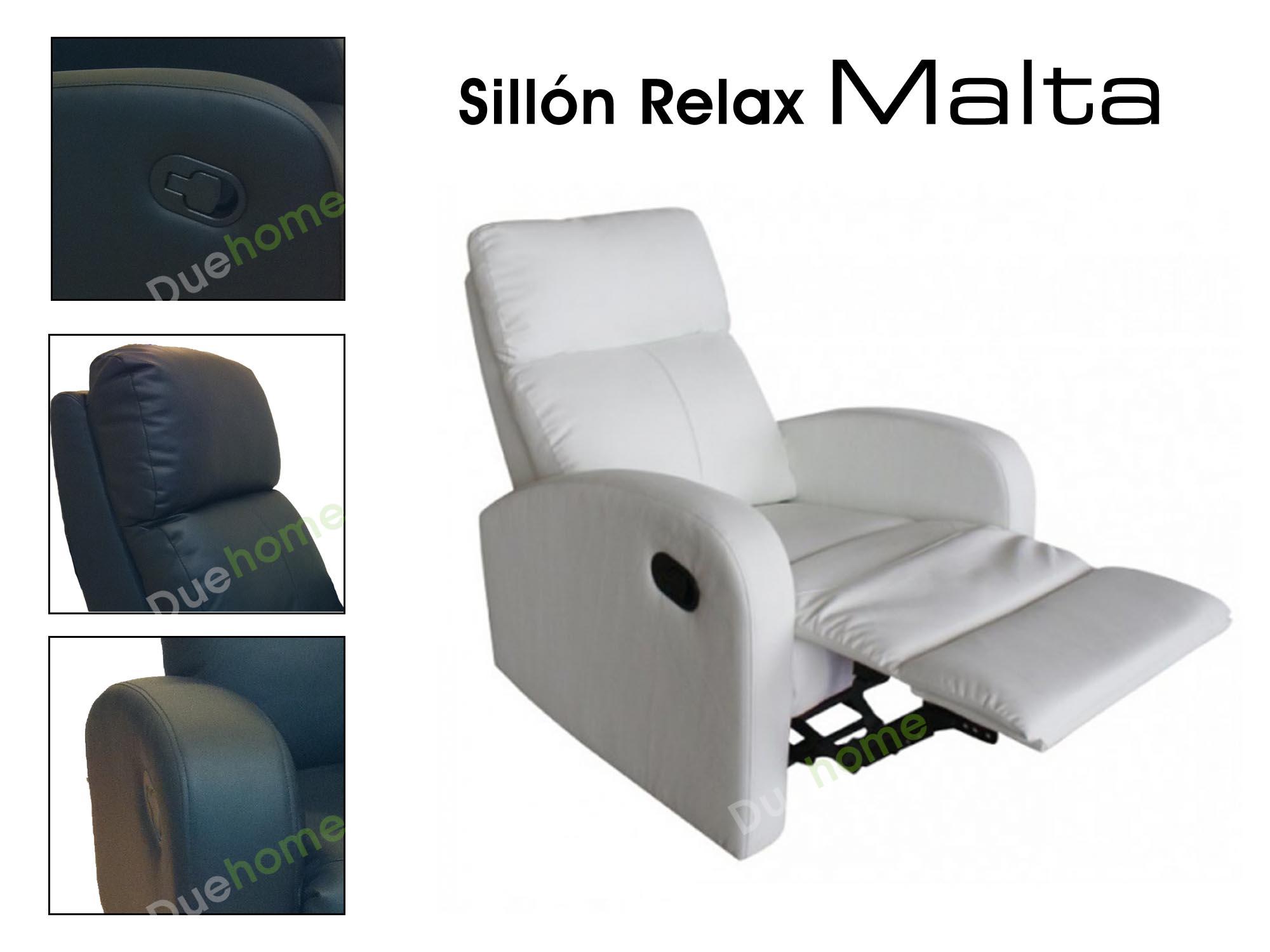 Sillon Relax Reclinable Sill N Blanco Malta Ebay