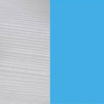 Blanco line - Azul