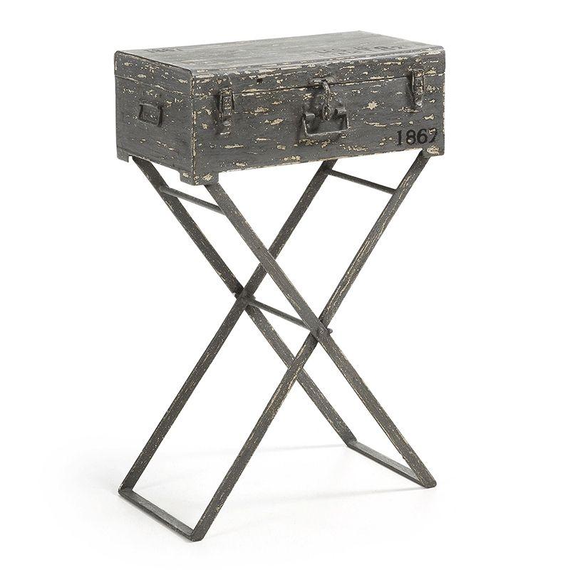 Consola de metal Carey