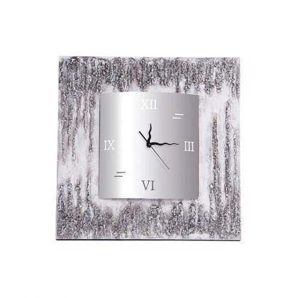 Reloj Piedras cuadrado