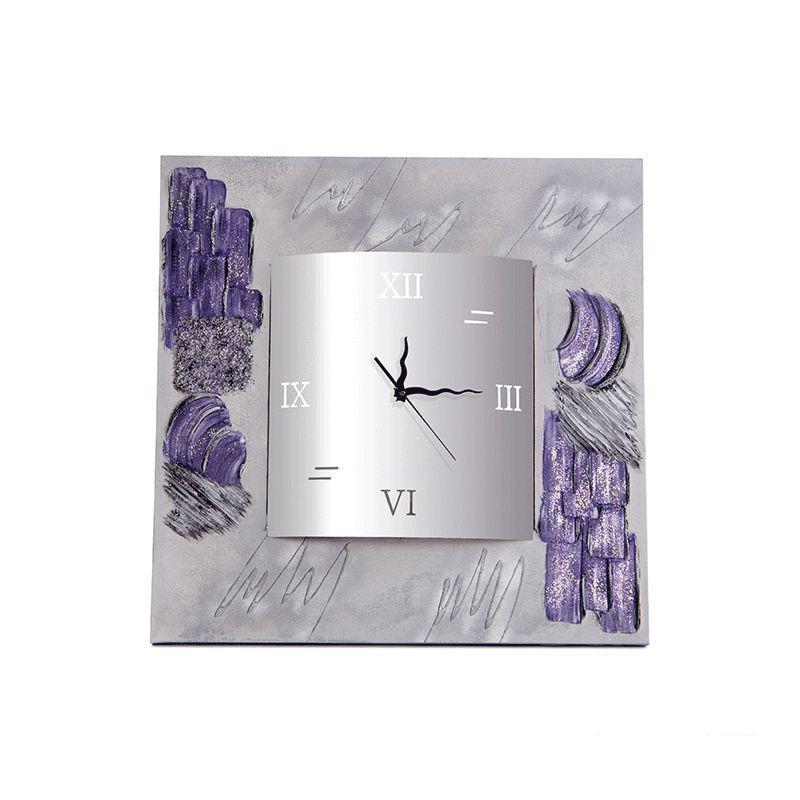 Reloj Texturas cuadrado