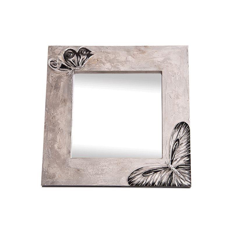 Espejo artesanal Mariposas