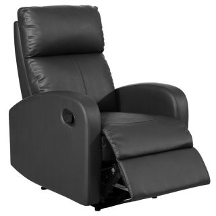 Sillón relax reclinable Malta negro
