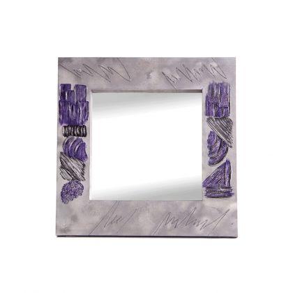 Espejo artesanal Texturas