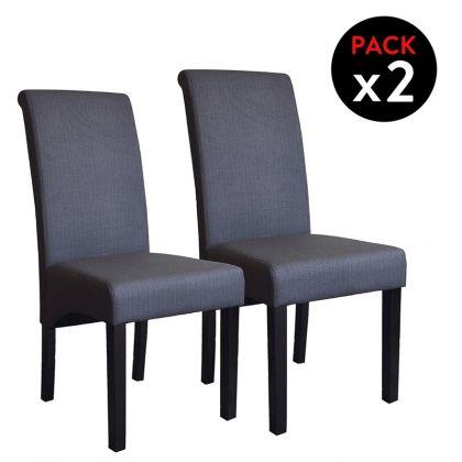 Pack 2 sillas tapizadas Lisboa