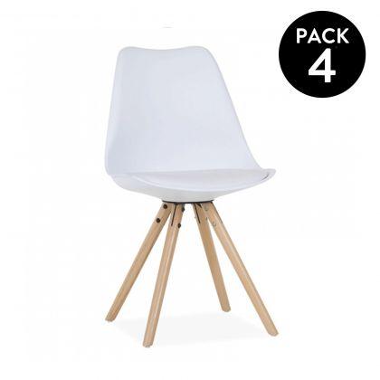 Pack 4 sillas Artic