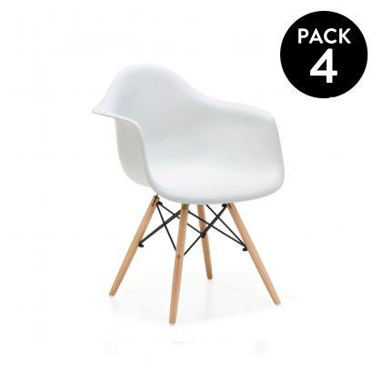 Pack 4 sillas Suecia
