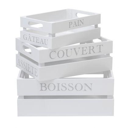 Set de 3 cajas Asfeld