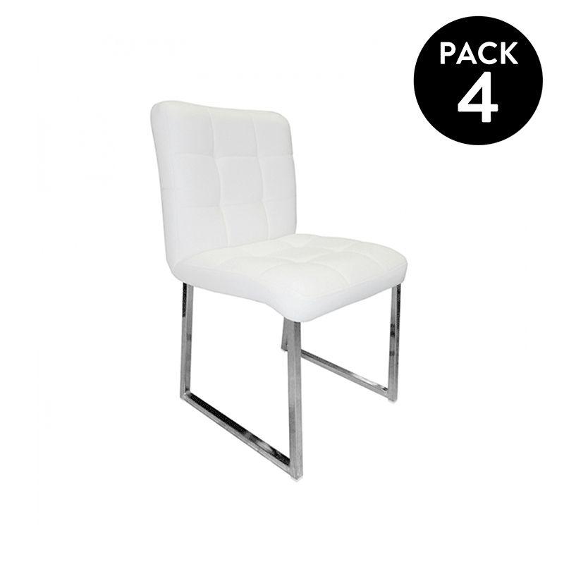 Pack 4 sillas Vides