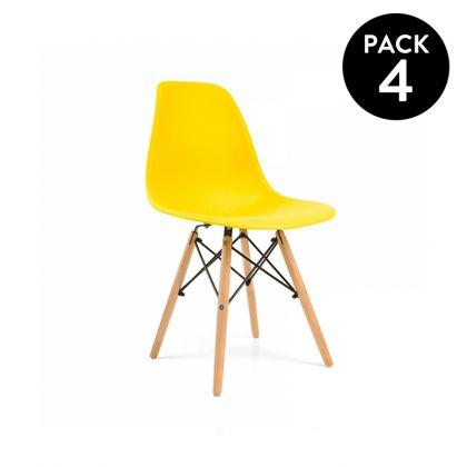 Pack 4 sillas Vintage