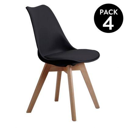 Pack 4 sillas Bistro