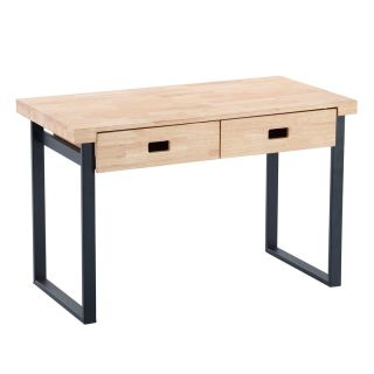 Mesa escritorio Natural 2 cajones