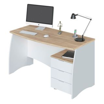 Mesa de escritorio Stil Buc 3 cajones