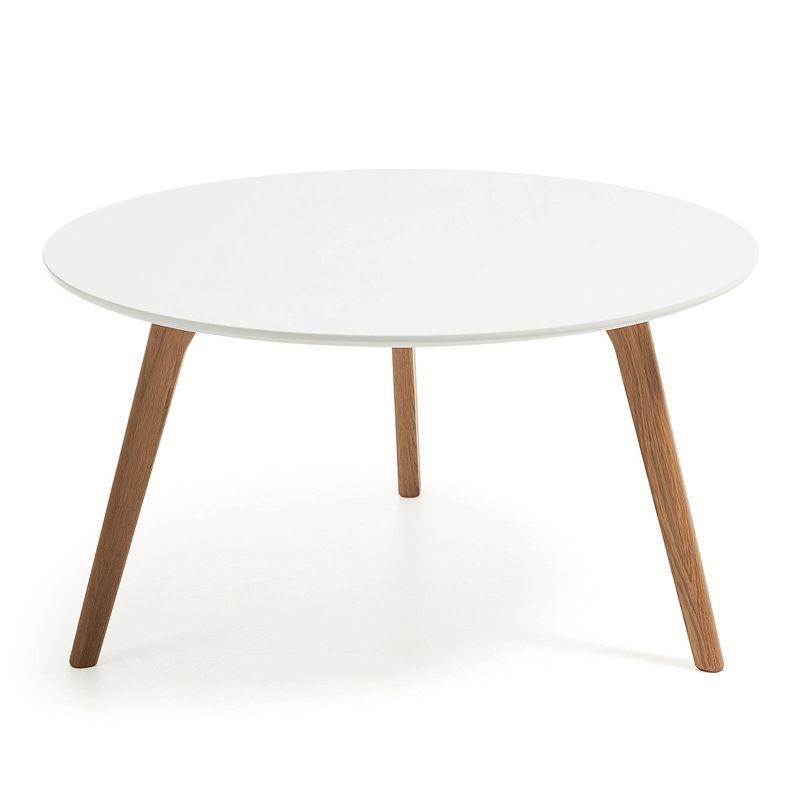 Mesa de centro Kirb blanca