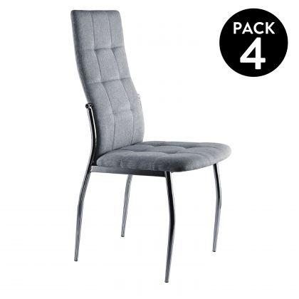 Pack 4 sillas de comedor Diana