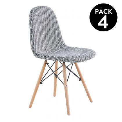 Pack 4 sillas de comedor Vogue