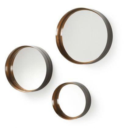 Set de 3 espejos Wilson