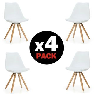 Pack 4 sillas Artic