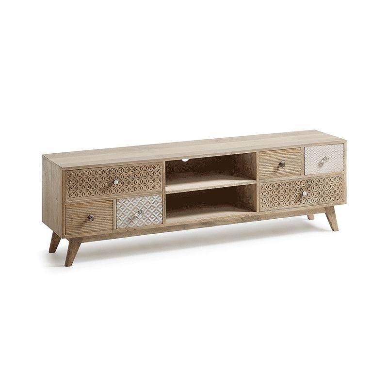 Mueble de TV de madera Hood