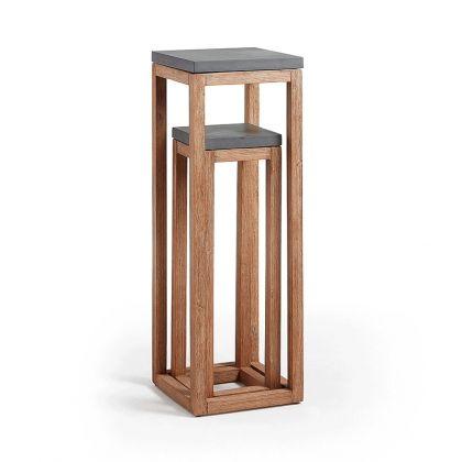 Set de 2 pedestales Levor