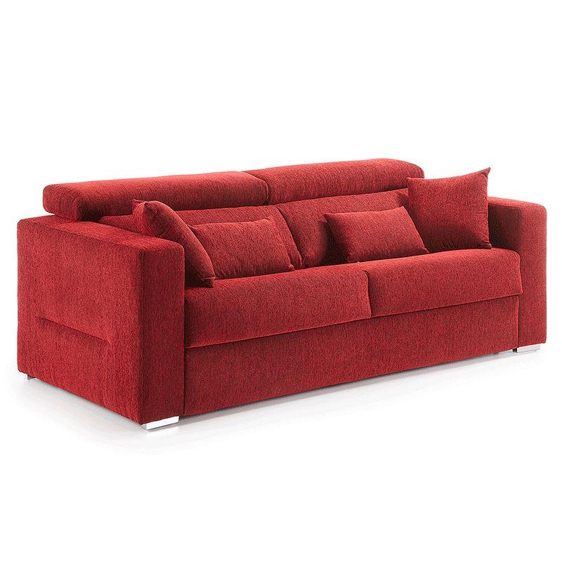 Sofá cama reclinable Status con colchón de espuma