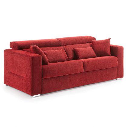 Sofá cama reclinable Status con colchón viscolástico
