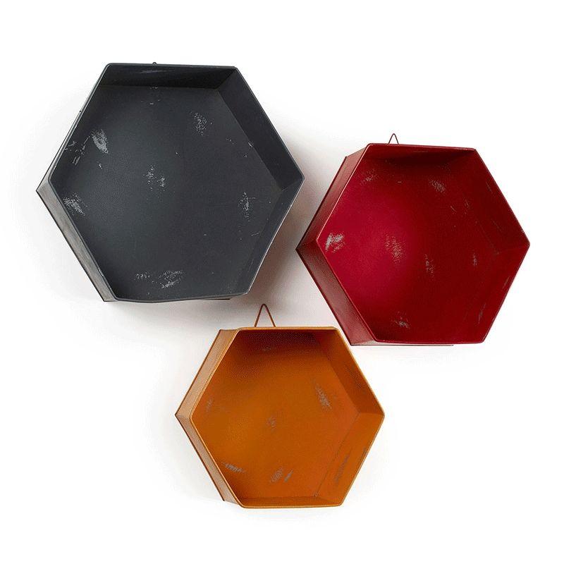 Set 3 estanterías Ogaxe