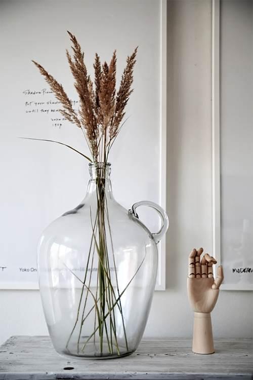 Ideas Para Darle Vida A Tu Casa El Blog De Due Home El Blog De - Plantas-secas-decoracion