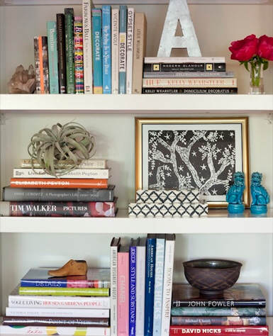 ideas para decorar estanter as   el blog de due home el