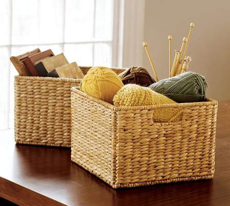 Ideas para decorar con cestas de mimbre el blog de due - Cestas de mimbre pequenas ...