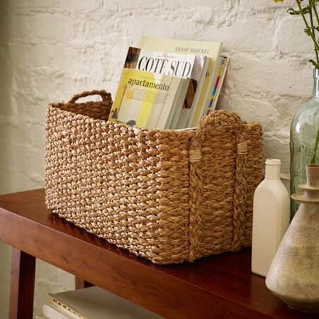 Ideas para decorar con cestas de mimbre el blog de due - Decoracion mimbre ...