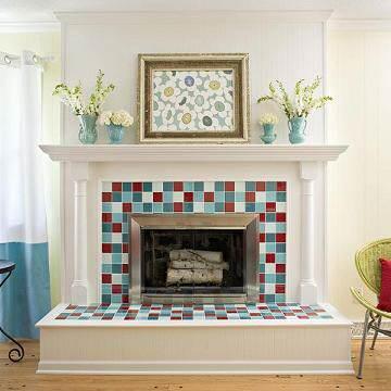 Ideas para decorar chimeneas 1 el blog de due home - Chimeneas para decorar ...