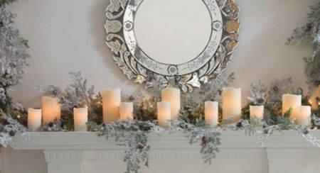 inspirados por el fro invernal la semana pasada os traamos ideas para decorar chimeneas utilizando espejos jarrones y cuadros