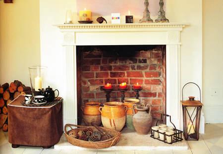 Ideas para decorar chimeneas 2 el blog de due home - Chimeneas para decorar ...