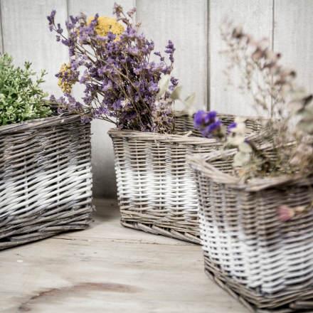 Ideas para decorar cestas de mimbre el blog de due home - Decoracion mimbre ...