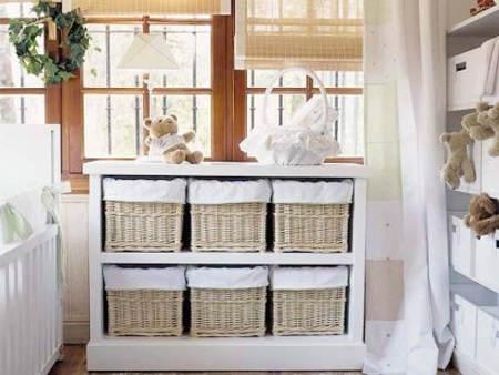 Ideas para decorar cestas de mimbre el blog de due home - Muebles de mimbre para bano ...