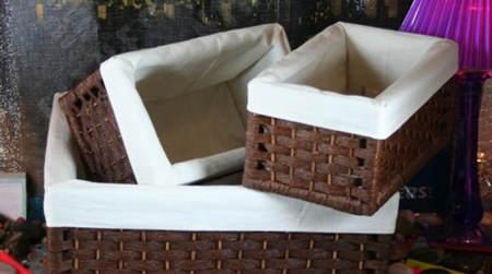 Ideas para decorar cestas de mimbre el blog de due home - Cestas decorativas ...