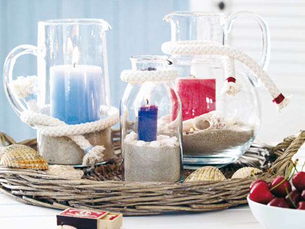 nautical-home-decorating-ideas-rope-sand-candles-glass-jars