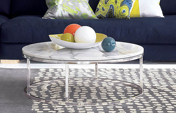 round-marble-coffee-table