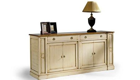 Tutorial diy c mo envejecer muebles con pintura el blog - Muebles blanco envejecido ...