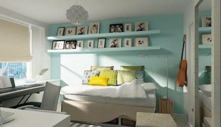 Es tendencia en decoraci n estanter as y pared del mismo for Lo ultimo en decoracion de paredes