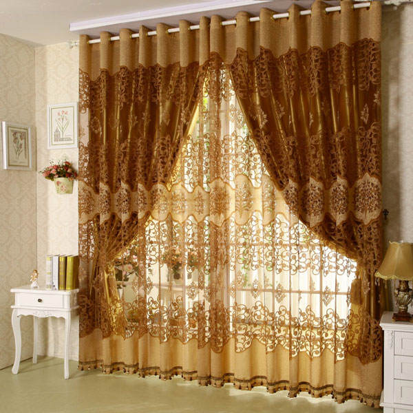 Cool-Curtain-For-Living-Room-Ideas-Living-Room-Interior-Glamorous-Modern-Lace-Curtain-Window-With-Gold-Table-Lamp-Decoration-Ideas