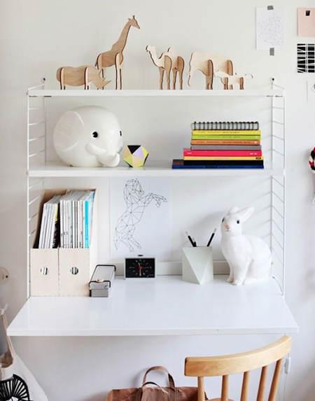 Ideas para decorar y organizar zonas de estudio infantiles - Ideas para decorar un estudio ...